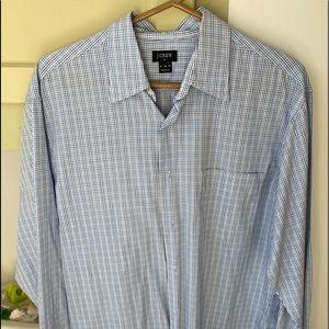 Men's medium long sleeve cotton J.Crew shirt